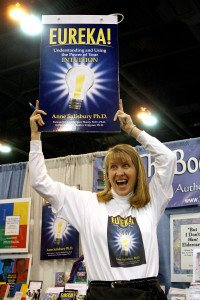 For the American Library Association (ALA) Newsletter in January 2009, Anne Salisbury, PhD was photographed having fun!