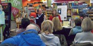 Anne Salisbury, PhD and Greg Meyerhoff speak at Border's Bookstore in Summit County (Breckenridge, Keystone, Copper Mountain), Colorado in 2009.