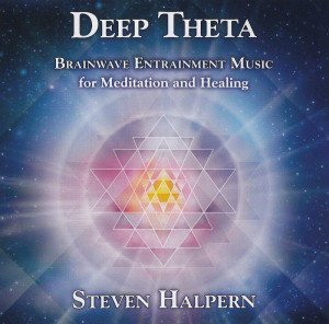 The CD we picked: Deep Theta by Steven Halpern