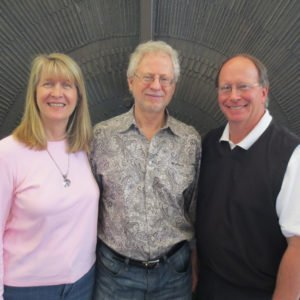 Anne Salisbury, Steven Halpern and Greg Meyerhoff share a synchronicity!
