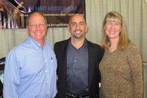 Greg Meyerhoff, Barry Goldstein and Anne Salisbury reunite in Denver!