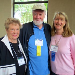 Jean & William Tiller and Anne Salisbury & Greg Meyerhoff (taking photo) meet at ISSSEEM Conference, June 2014