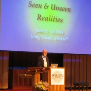 William Tiller, PhD, founder of the Institute for Psychoenergetic Science, speaks at ISSSEEM Conference, June 2014