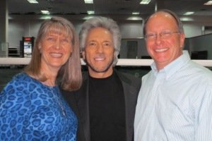Anne Salisbury, Gregg Braden and Greg Meyerhoff, Barry Goldstein and Anne Salisbury reunite in Denver!